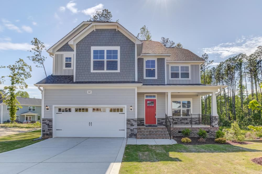 Berklee Estates New Homes in Wake Forest, NC Caviness & Cates Communities