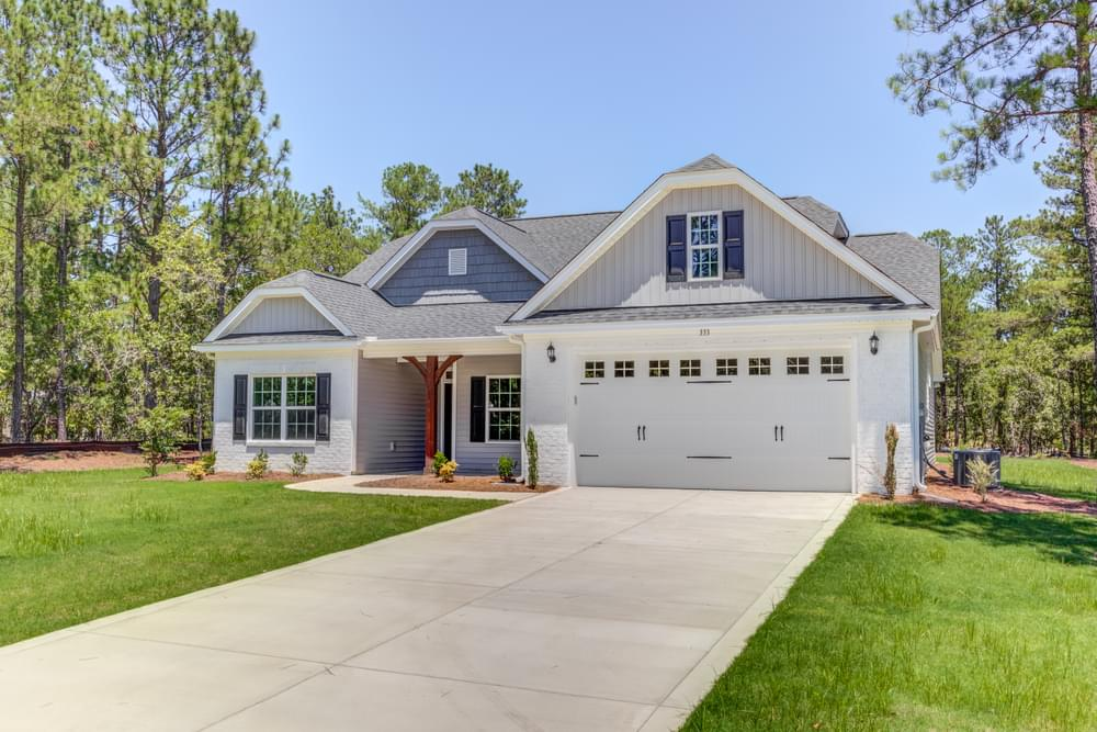 Calabash New Home in Carthage, NC Caviness & Cates Communities