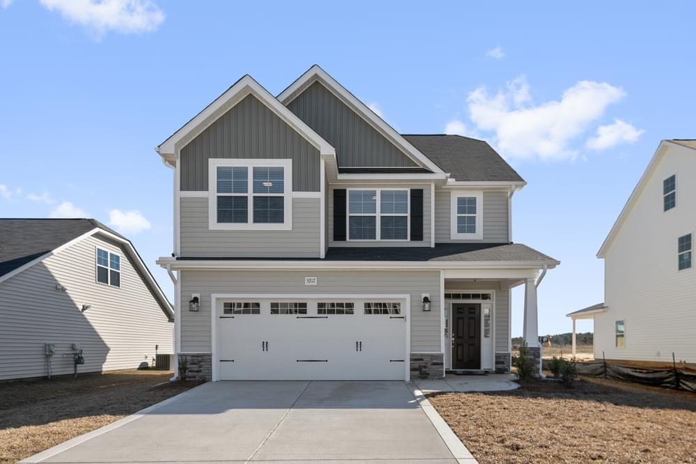 Leland, NC New Home Elevation C