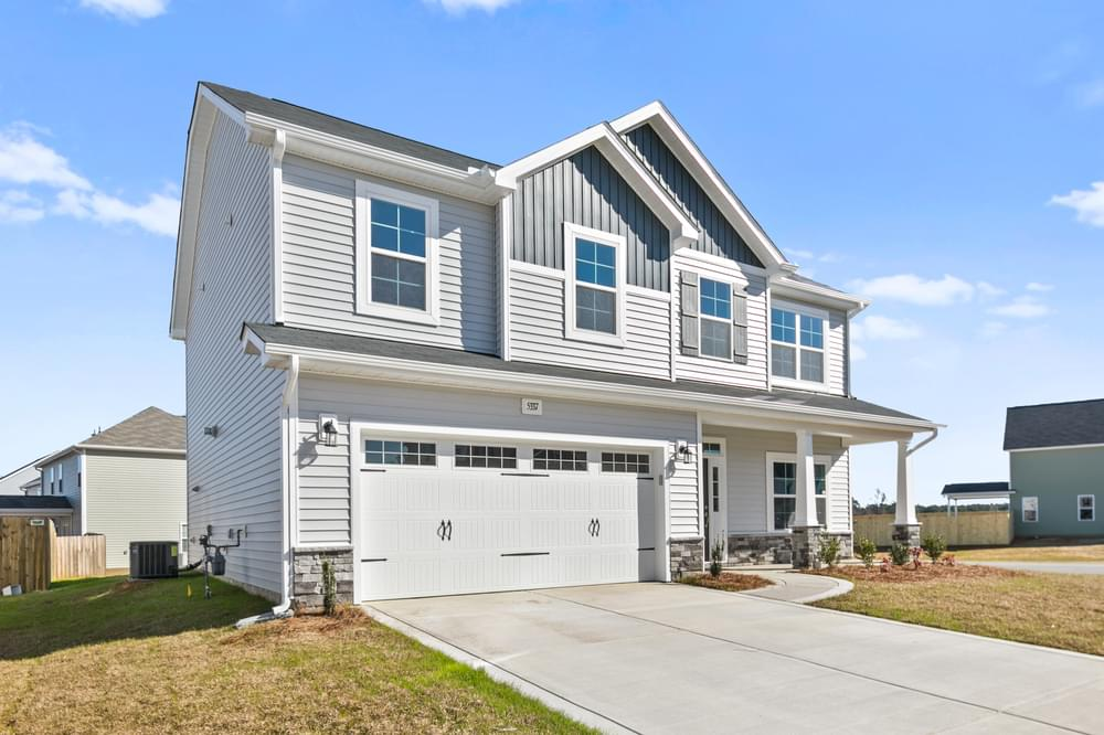 Drayton New Home in Winterville, NC Elevation E