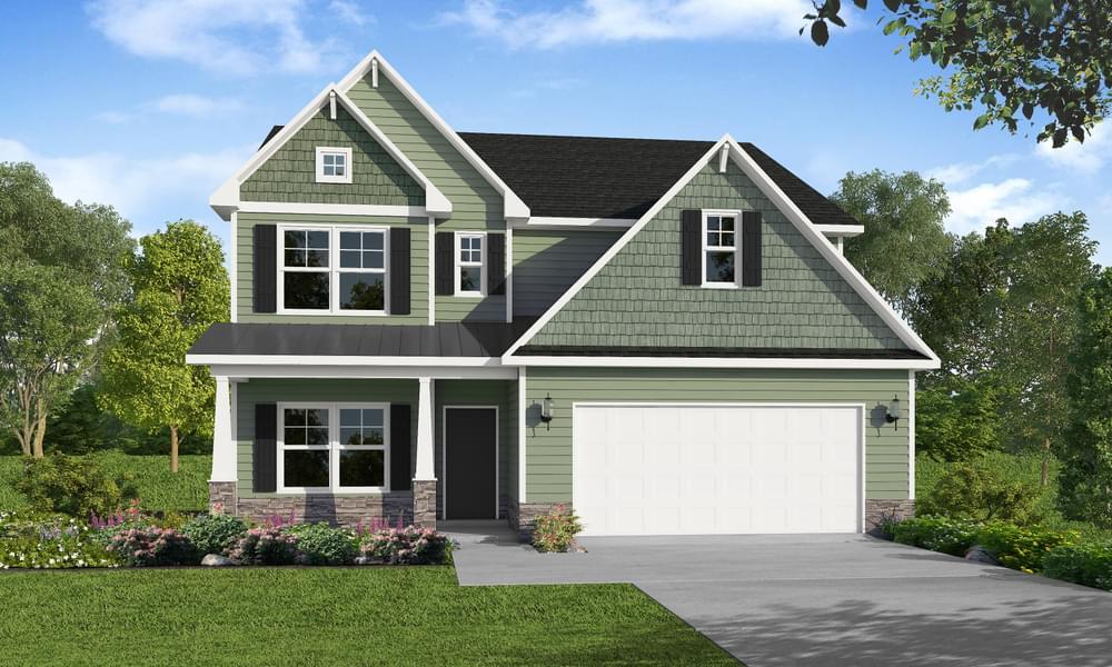 2574 Longleaf Pine Circle, Leland, NC 28451 Elevation C