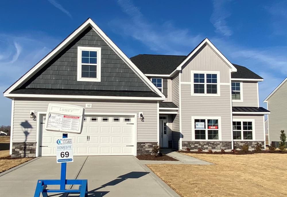 5br New Home in Clayton, NC Caviness & Cates Communities