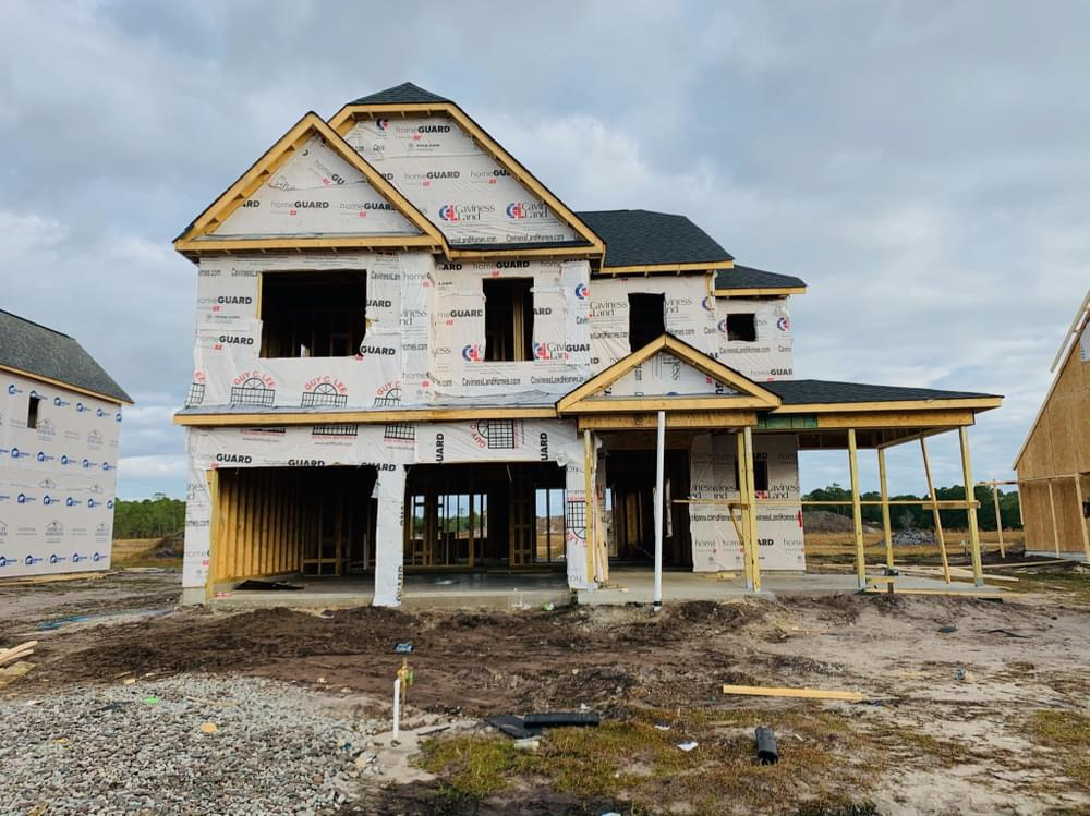 2,563sf New Home in Wilmington, NC Caviness & Cates Communities