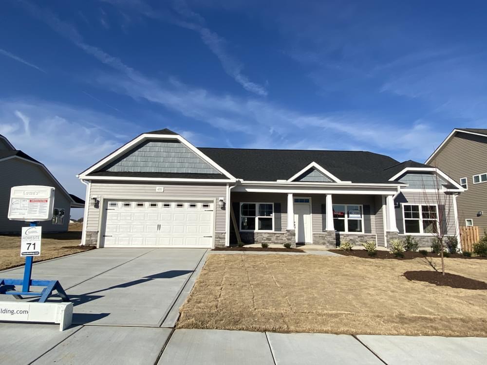 Clayton, NC New Home Caviness & Cates Communities