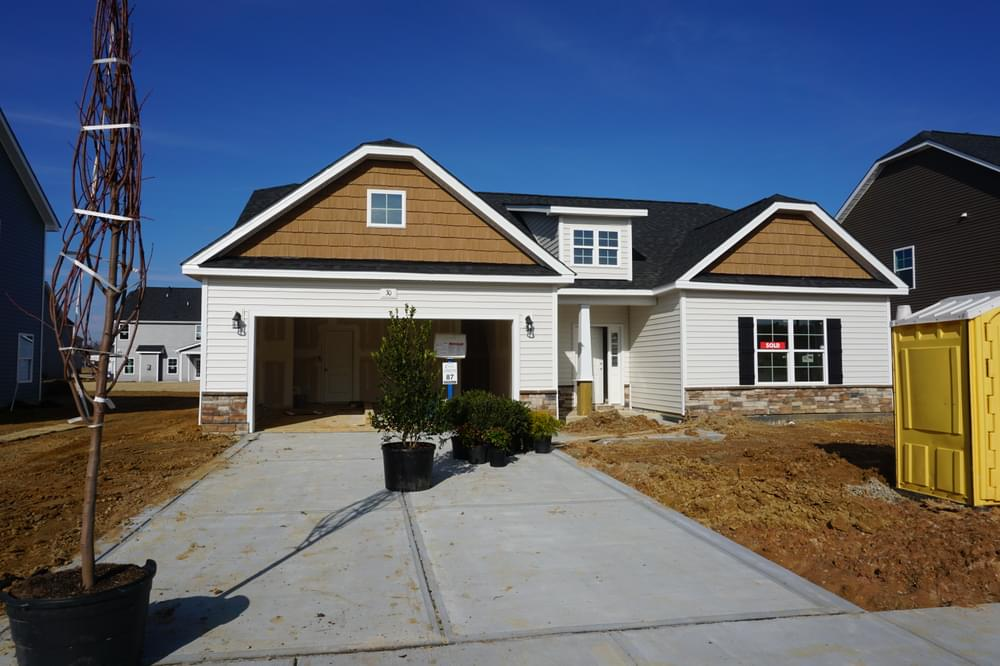 2,432sf New Home in Clayton, NC Caviness & Cates Communities
