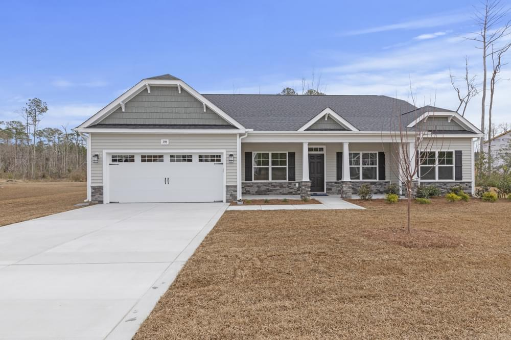 New Home in Rocky Point, NC Caviness & Cates Communities