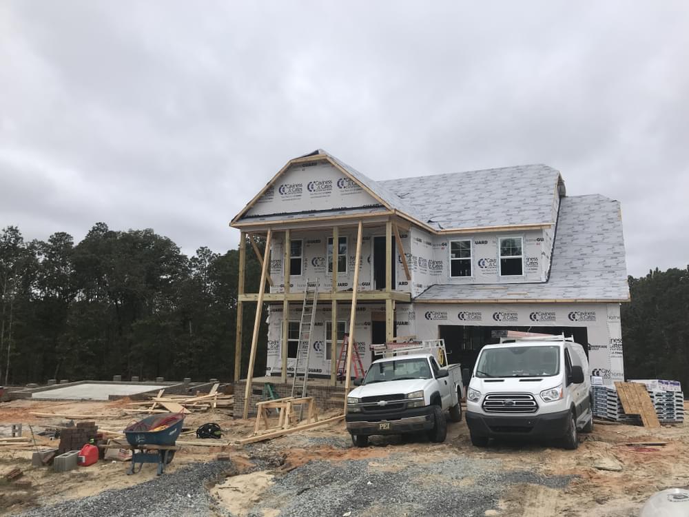 3,156sf New Home in Pinehurst, NC Caviness & Cates Communities