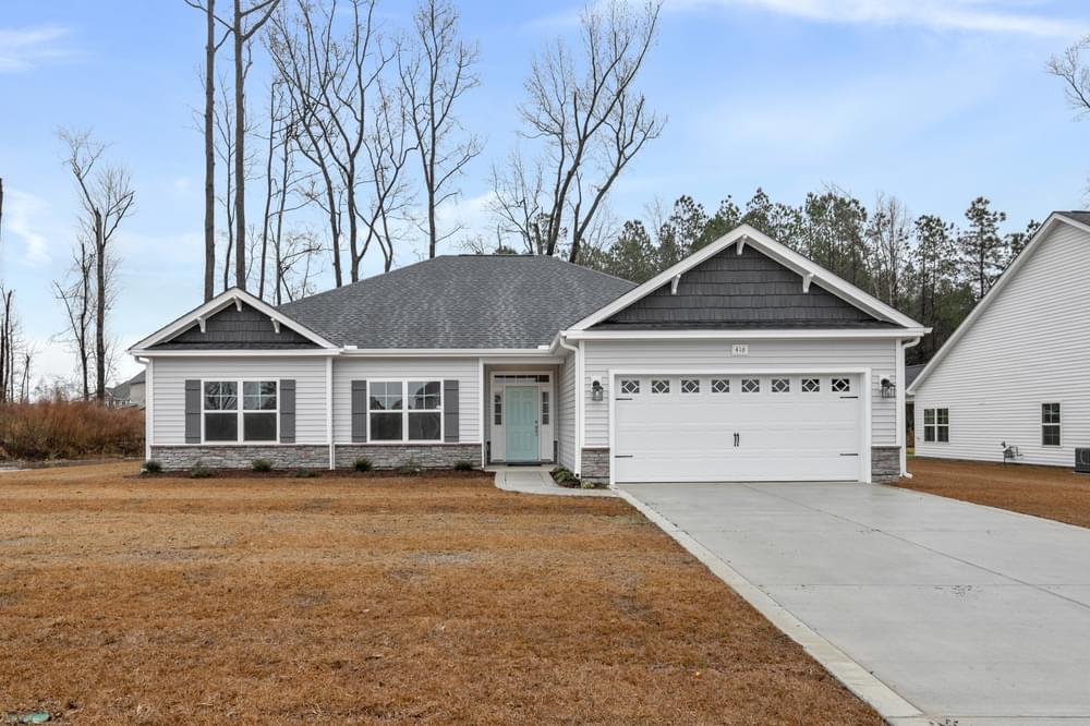 Ivy Creek New Home in Grimesland, NC Elevation C