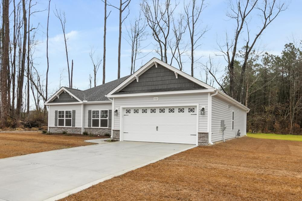 1,821sf New Home in Winterville, NC Caviness & Cates Communities