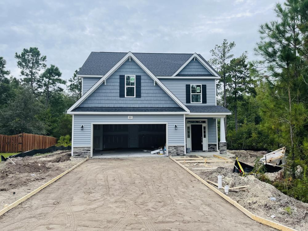 Home on 9/21/21. 2,424sf New Home in Sneads Ferry, NC Home on 9/21/21
