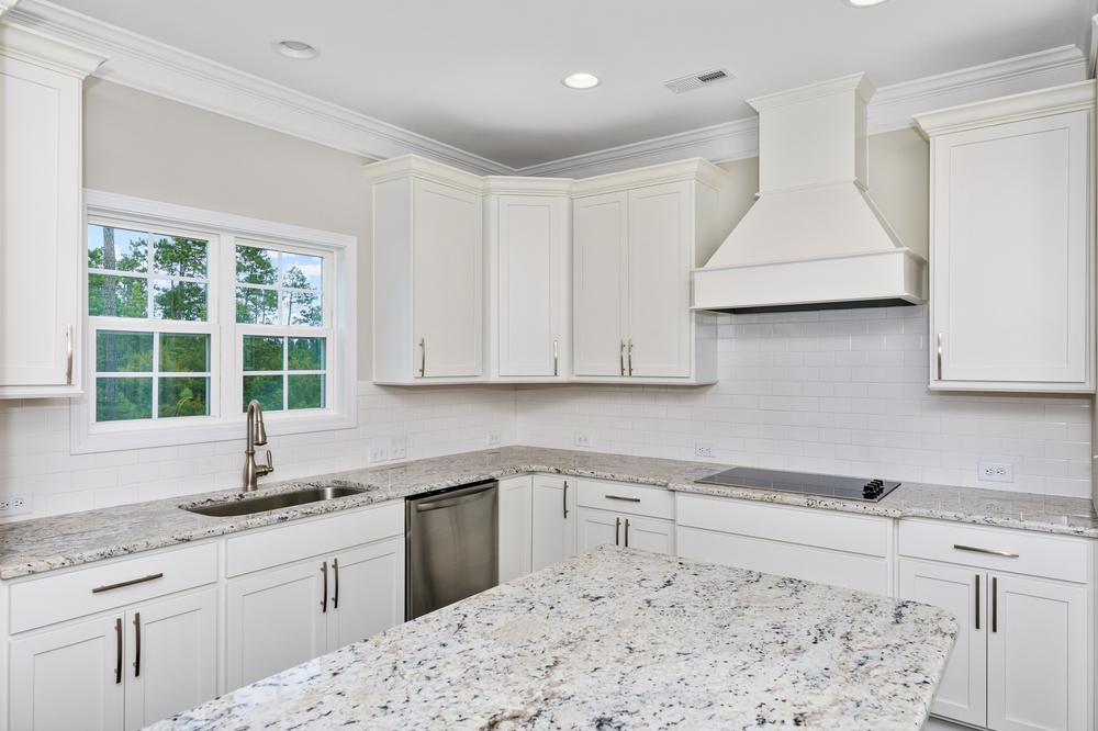 Gourmet layout with vent hood option. New Home in Sneads Ferry, NC Gourmet layout with vent hood option.