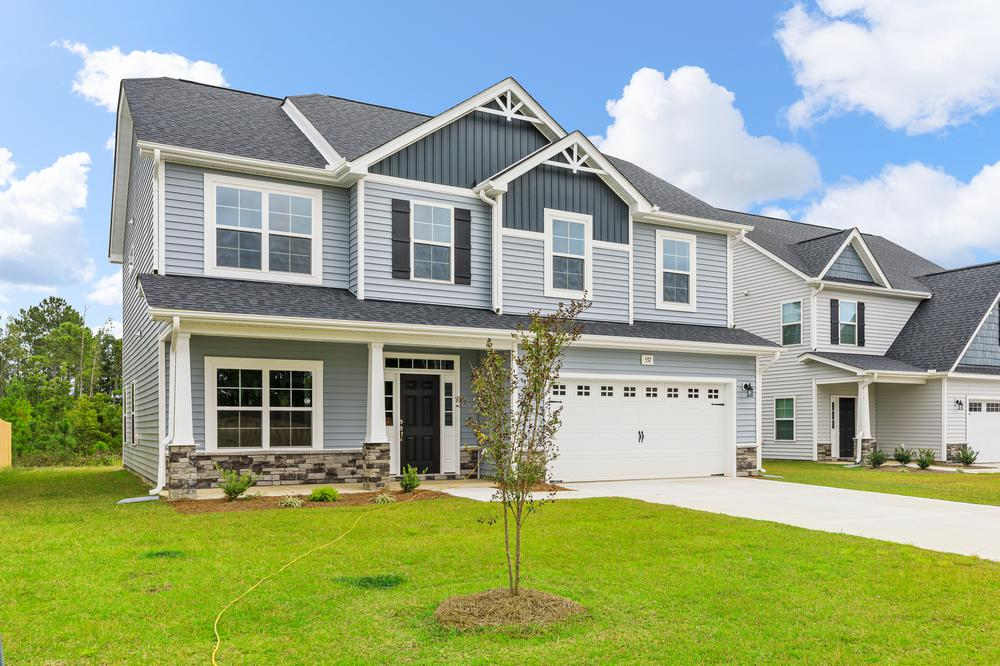Elevation E. 4br New Home in Sneads Ferry, NC Elevation E