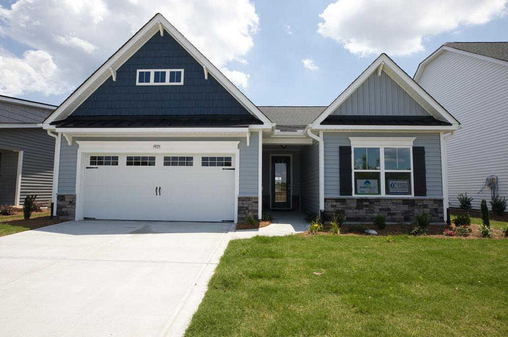 Elevation TW. Canton New Home in Carthage, NC Elevation TW