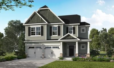 The Bradley New Home in Knightdale NC