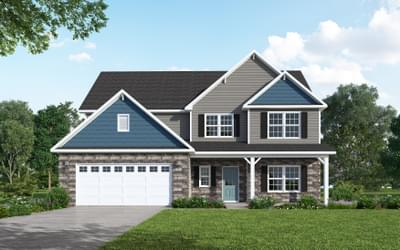 2254 Three Oaks Drive, Greenville, NC 27858 New Home for Sale