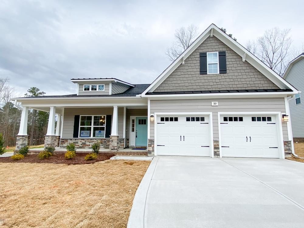 Elevation K. 2,672sf New Home in Knightdale, NC Elevation K