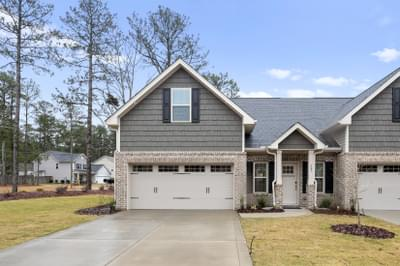 The Royal Oak Townhome New Home in Pinehurst NC