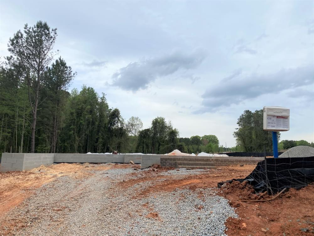 2,927sf New Home in Wake Forest, NC Home in Foundation 4/15