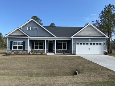 149 Evergreen Forest Court, Sneads Ferry, NC 28460 New Home for Sale