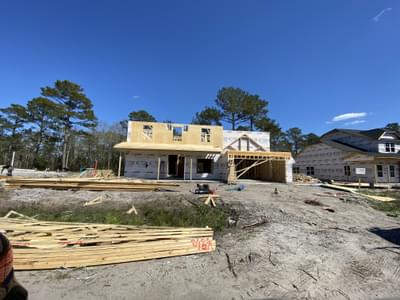 119 Evergreen Forest Drive, Sneads Ferry, NC 28460 New Home for Sale
