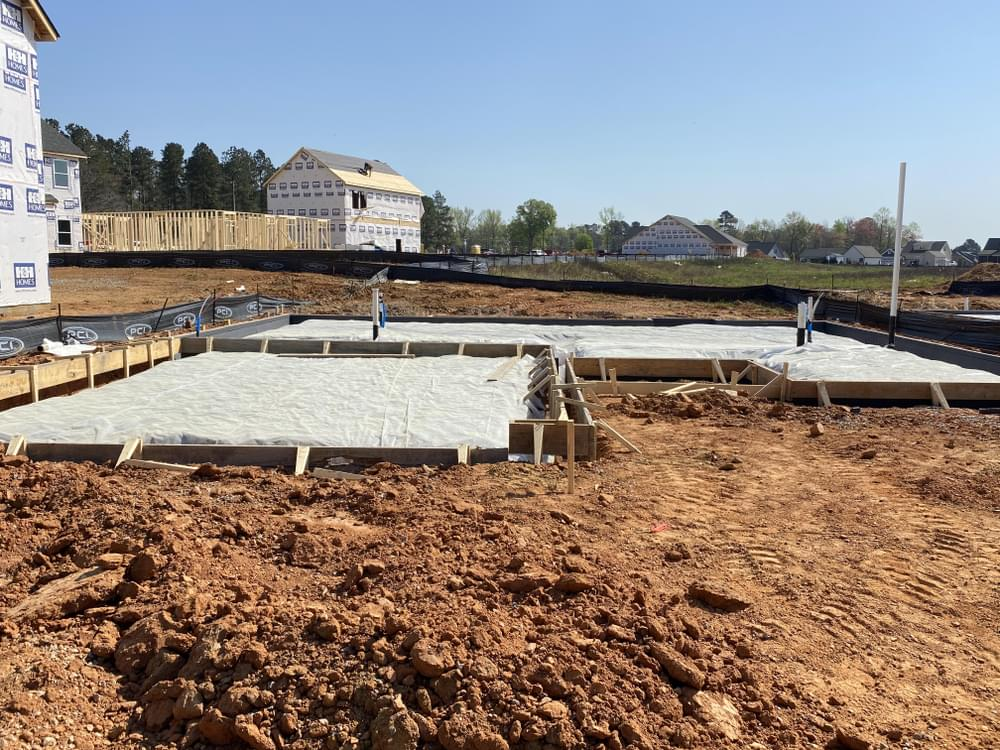3br New Home in Clayton, NC Home in Foundation 4/6/2021