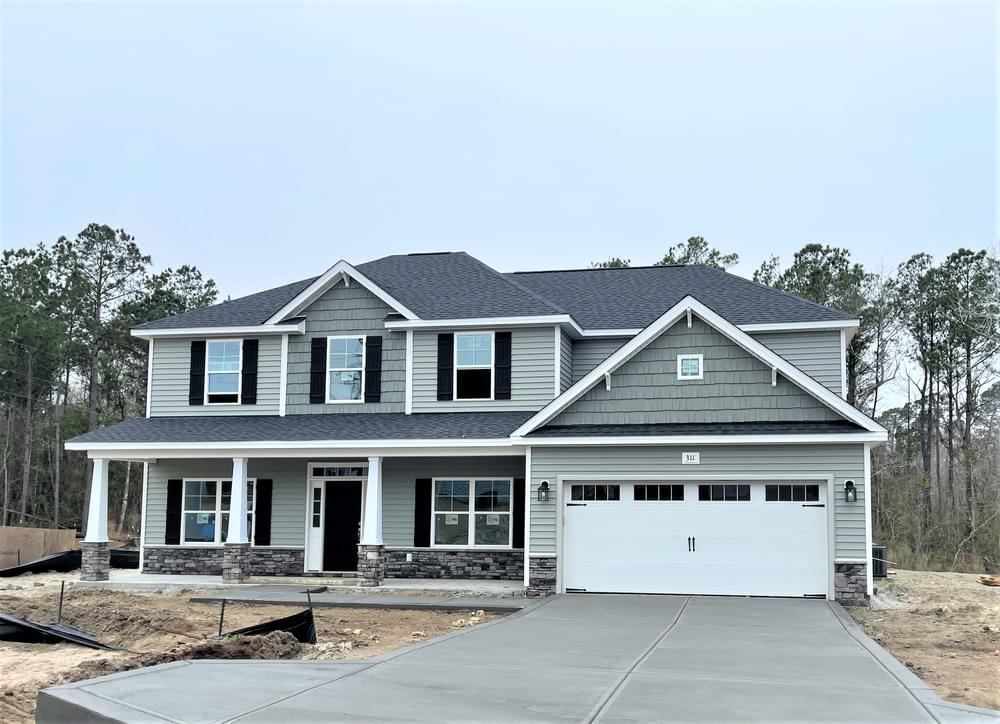 3/26/21. 4br New Home in Sneads Ferry, NC 3/26/21