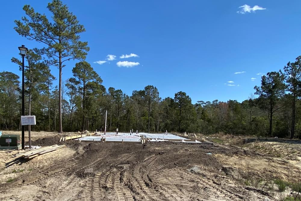Home in foundation 4/2/2021. 304 Sumac Court, Sneads Ferry, NC Home in foundation 4/2/2021