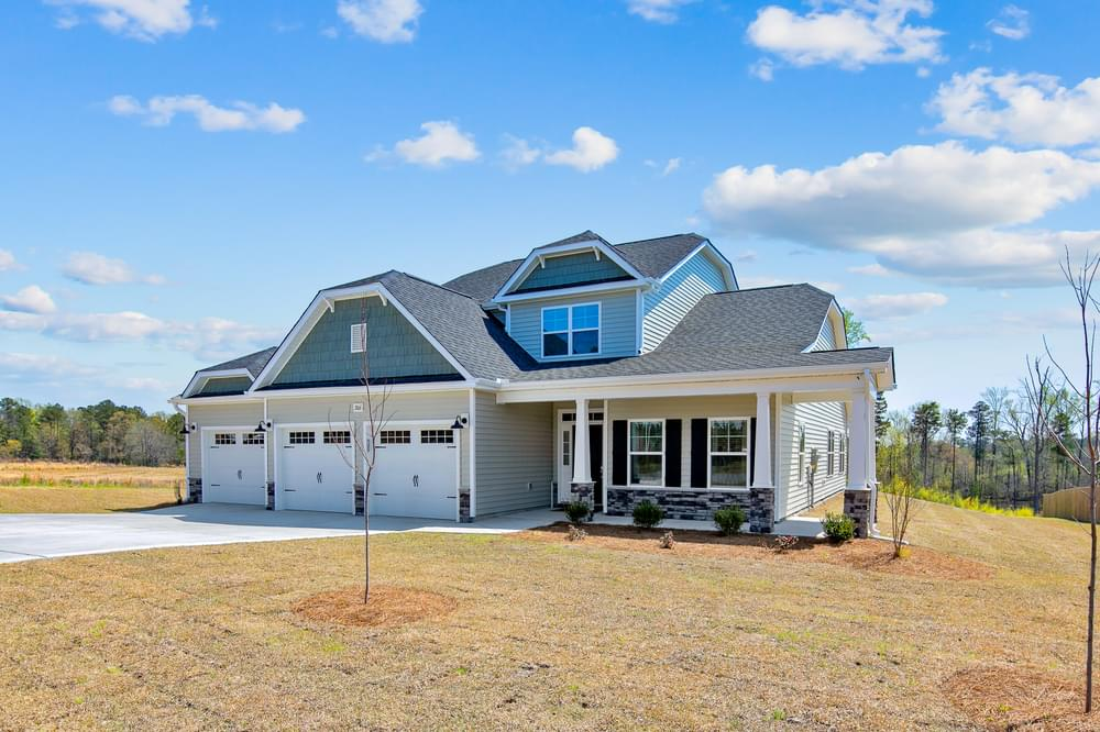 New Homes in Selma, NC Caviness & Cates Communities