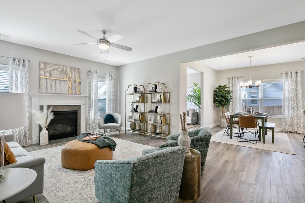 Eastover New Homes in Selma, NC Caviness & Cates Communities