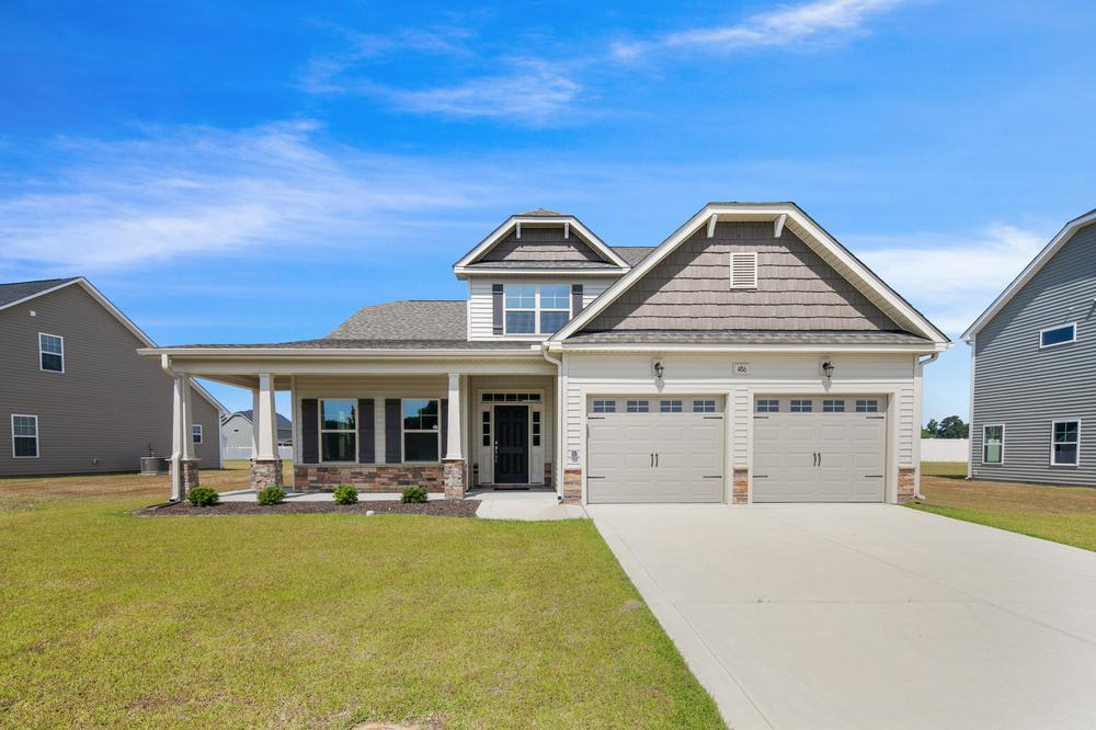 The Sanctuary at Forest Sound New Homes in Hampstead, NC Caviness & Cates Communities