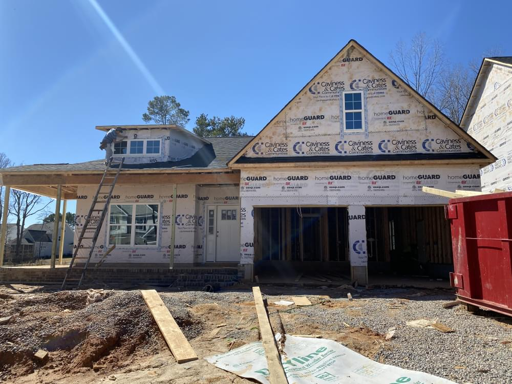 2/24/21. 2,672sf New Home in Knightdale, NC 2/24/21