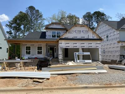 412 Ingram Ridge Court, Knightdale, NC 27545 New Home for Sale
