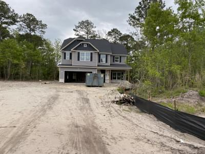 123 Evergreen Forest Drive, Sneads Ferry, NC 28460 New Home for Sale