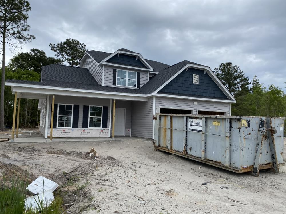 Home on 4/24/2021. 2,876sf New Home in Sneads Ferry, NC Home on 4/24/2021