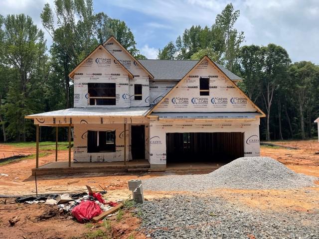 Home under construction 6/7/21. 3704 Legato Lane, Wake Forest, NC Home under construction 6/7/21