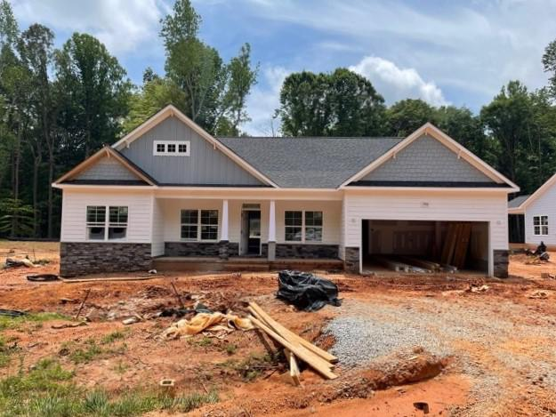 Home with siding 6/10/21. 3,142sf New Home in Wake Forest, NC Home with siding 6/10/21