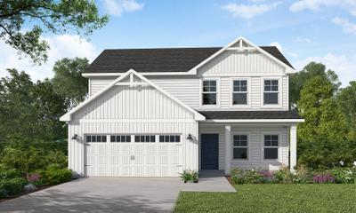 The Meadowbrook New Home in Clayton NC