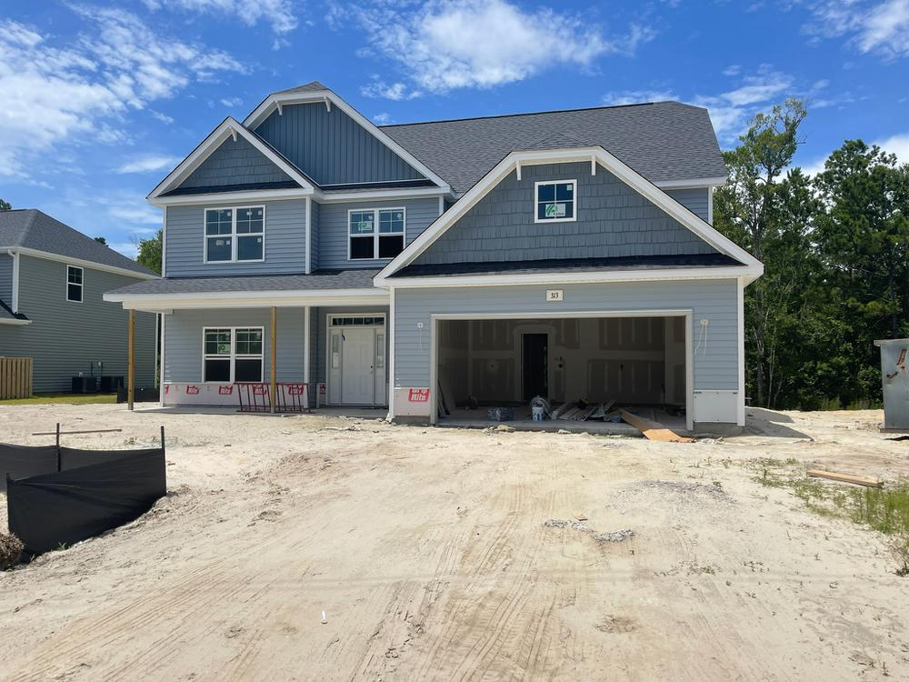 Home on 7/13/2021. 3,100sf New Home in Sneads Ferry, NC Home on 7/13/2021