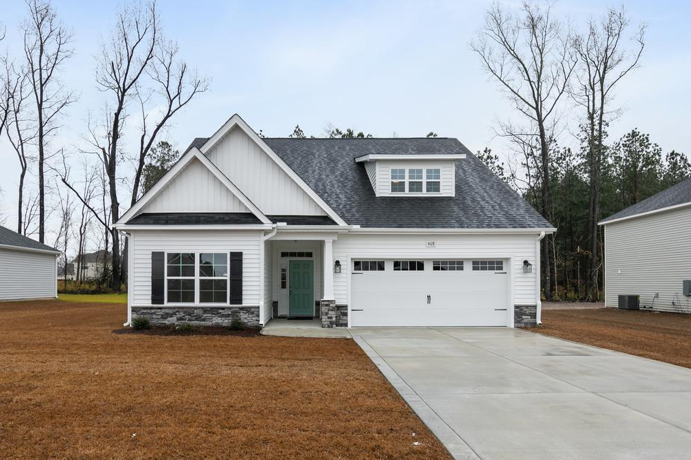 Beddard Ranch New Homes in Grimesland, NC Caviness & Cates Communities