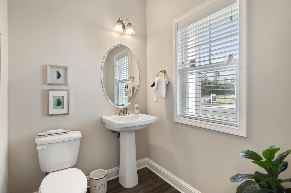 The Mojito Townhome Half Bathroom. The Mojito Townhome Half Bathroom