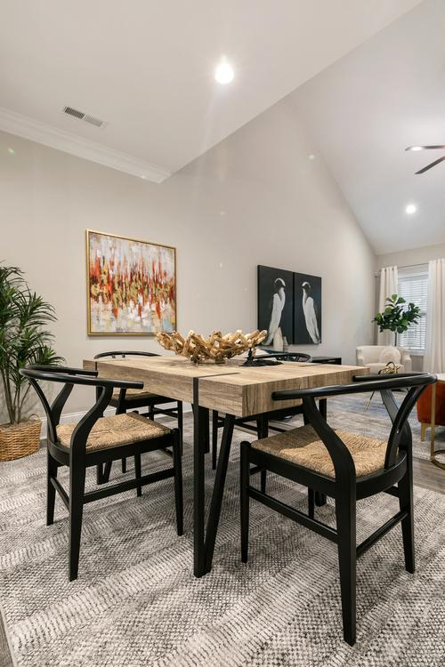 The Royal Oak Townhome Model Eat-In Kitchen. The Royal Oak Townhome Model Eat-In Kitchen