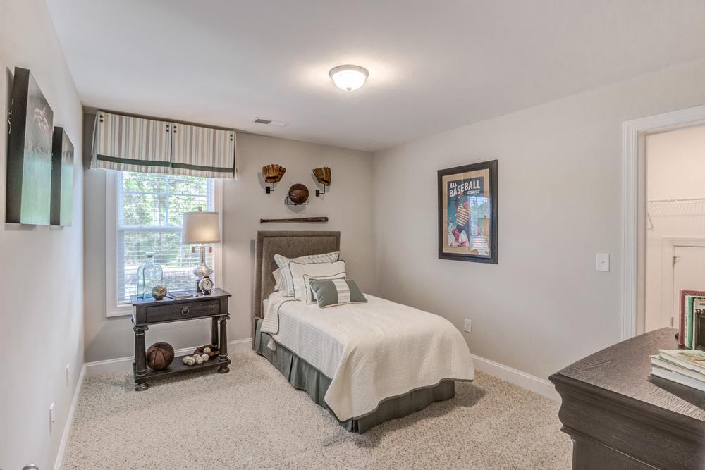 The Benton Model Bedroom. The Benton Model Bedroom