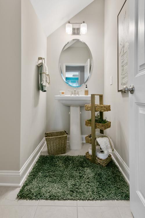 The Granville Model Half Bathroom. The Granville Model Half Bathroom