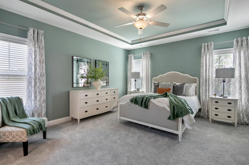 The Granville Model Master Bedroom. The Granville Model Master Bedroom