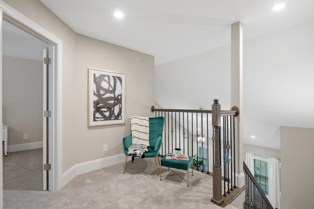 The Royal Oak Townhome Model Hall. The Royal Oak Townhome Model Hall