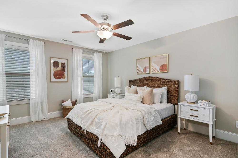 The Royal Oak Townhome Model Bedroom. The Royal Oak Townhome Model Bedroom