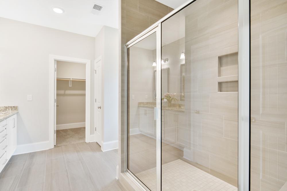 The Rivermist Model Master Bathroom. The Rivermist Model Master Bathroom