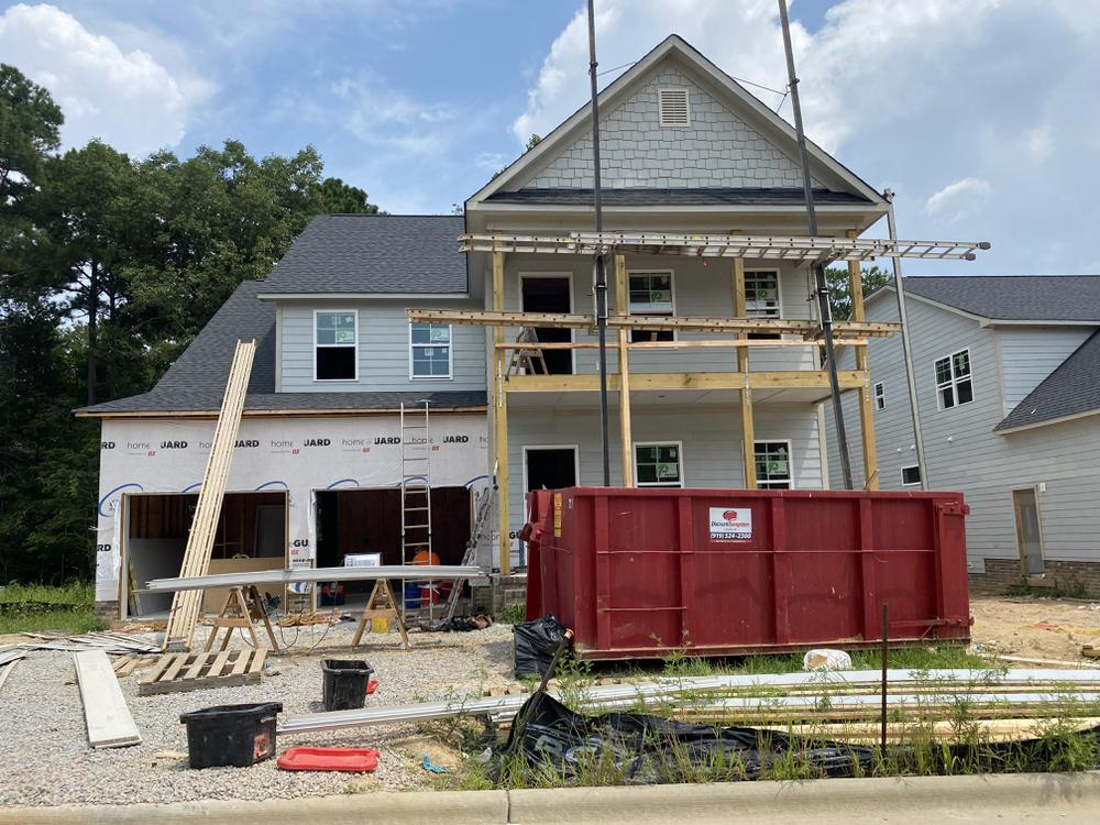 Home on 8/10/21. New Home in Knightdale, NC Home on 8/10/21