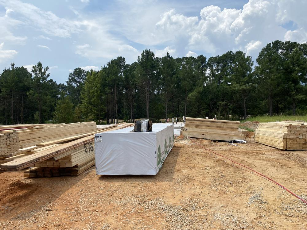 Homesite. New Home in Knightdale, NC Homesite