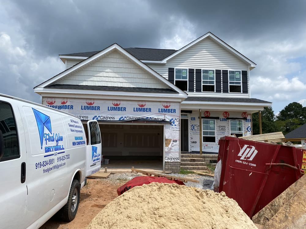 Home on 8/10/21. 1,997sf New Home in Wendell, NC Home on 8/10/21